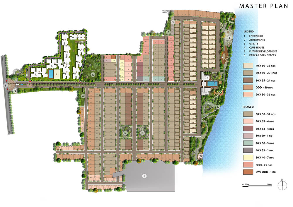 The Lake View Address Villa Electronic City Phase 1 Bangalore 13982