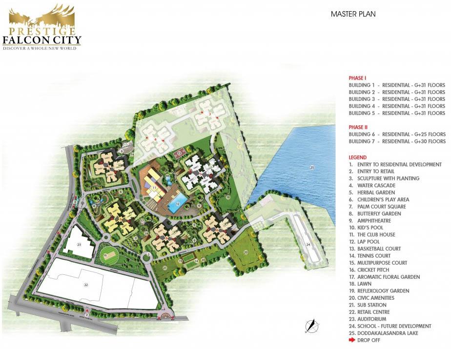 Prestige Falcon City Kanakapura Road Bangalore 14371