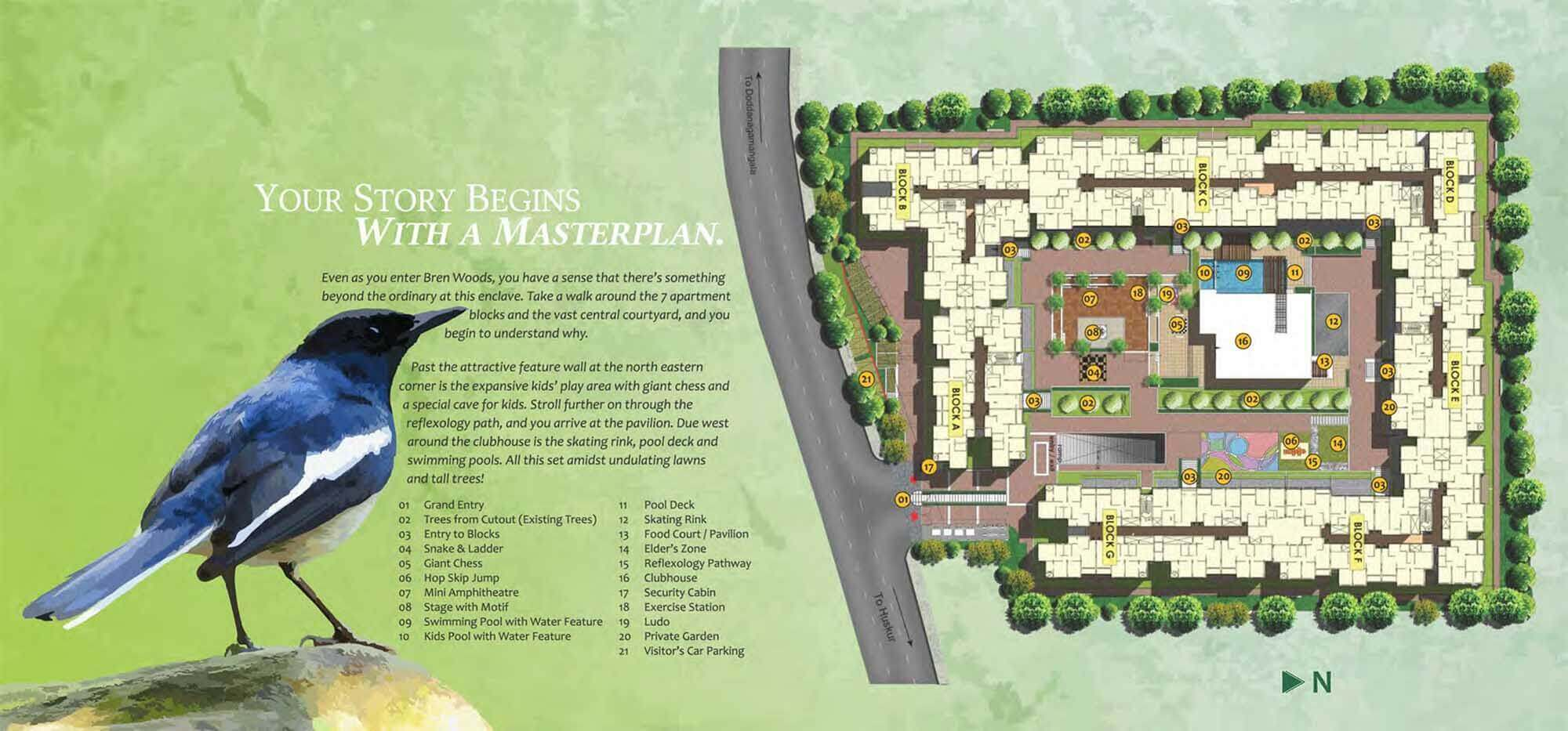 Bren Woods Hosur Road Bangalore 14391