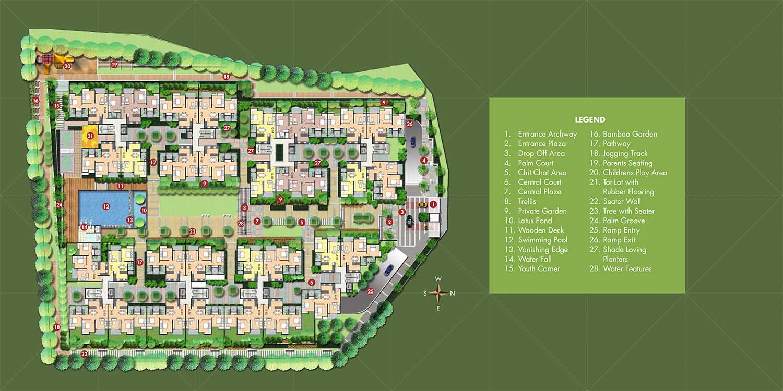 Zonasha Vista Harlur Bangalore 14403