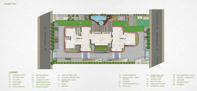 Jain Grand West Yeshwanthpur Bangalore 14453