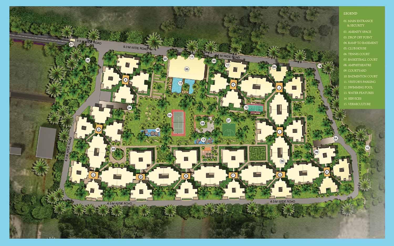 Nitesh Melbourne Park Hennur Road Bangalore 14515