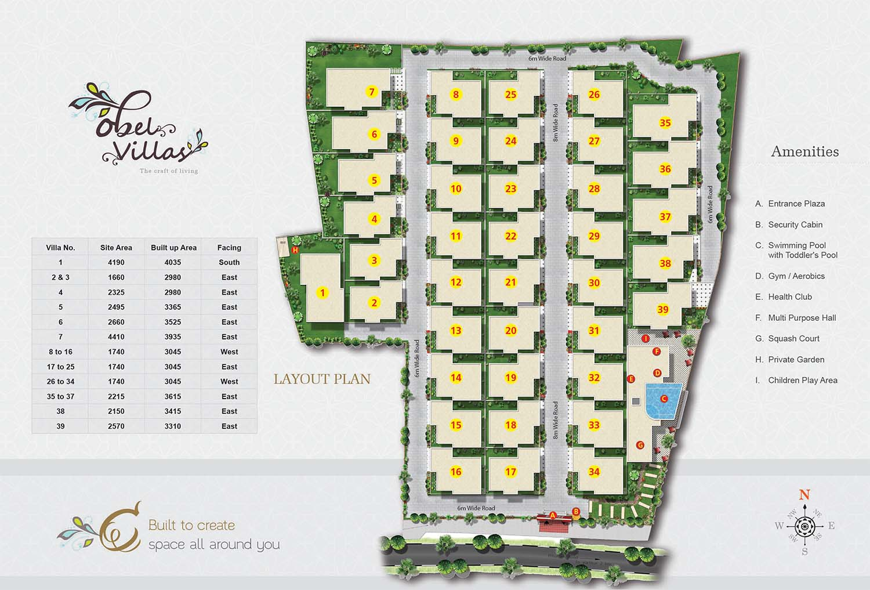 OBEL Villas Whitefield Bangalore 14531