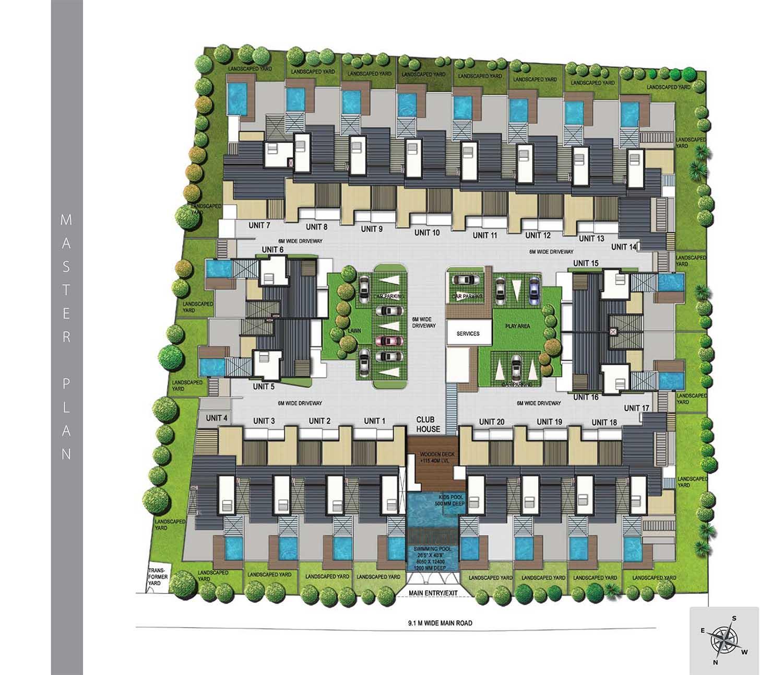 Puravankara Coronation Square Villa JP Nagar Bangalore 14625