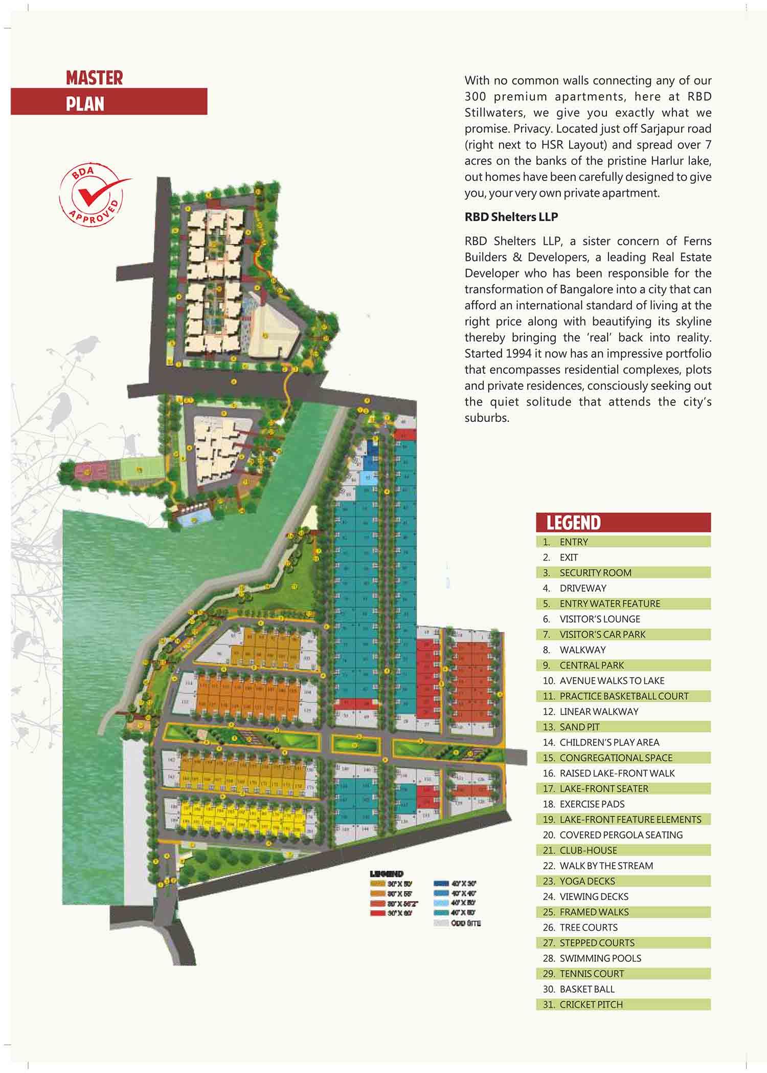 RBD Stillwaters Apartments Sarjapur Road Bangalore 14641