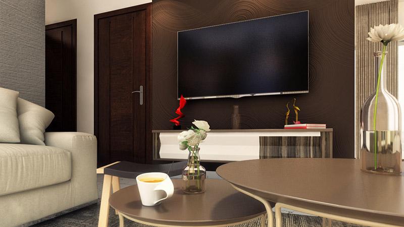 CoEvolve Northern Star thanisandra bangalore living room