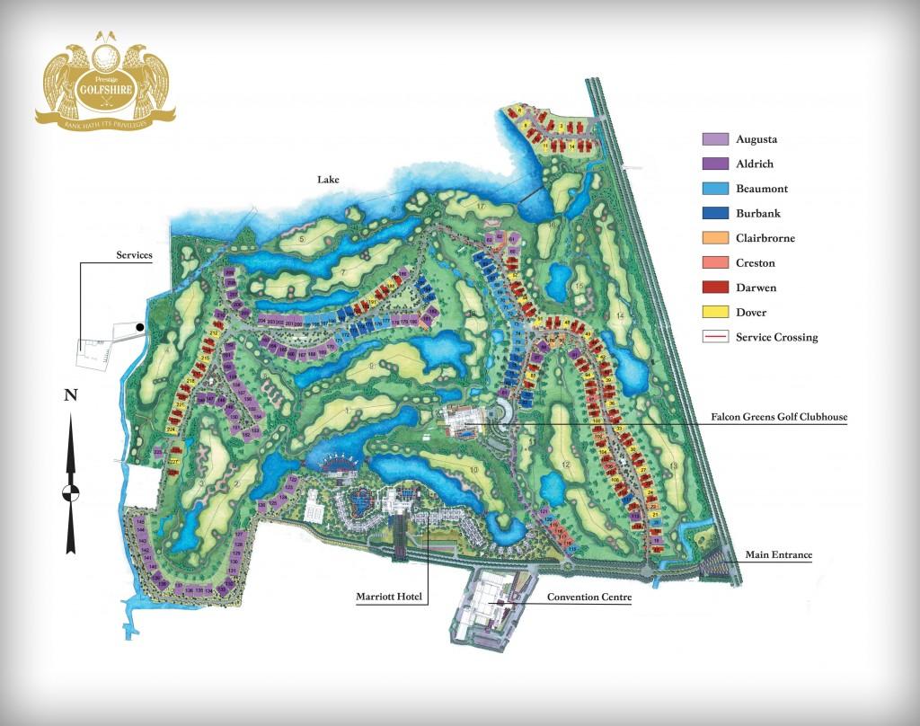 Prestige Golfshire Villa Nandi Hills Bangalore 15115