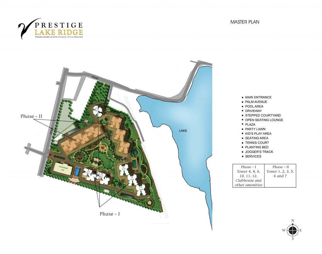 Prestige Lake Ridge Uttarahalli Bangalore 15128