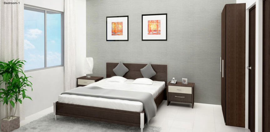 Godrej Prakriti bedroom