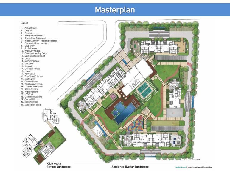 Ambience Tiverton masterplan