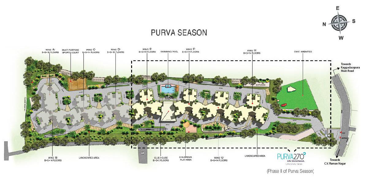 Purva 270 Degrees CV Raman Nagar Bangalore 15716