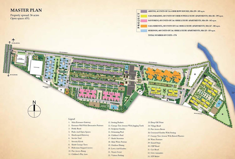 Sobha City Casa Serenita Kannur Bangalore 15830