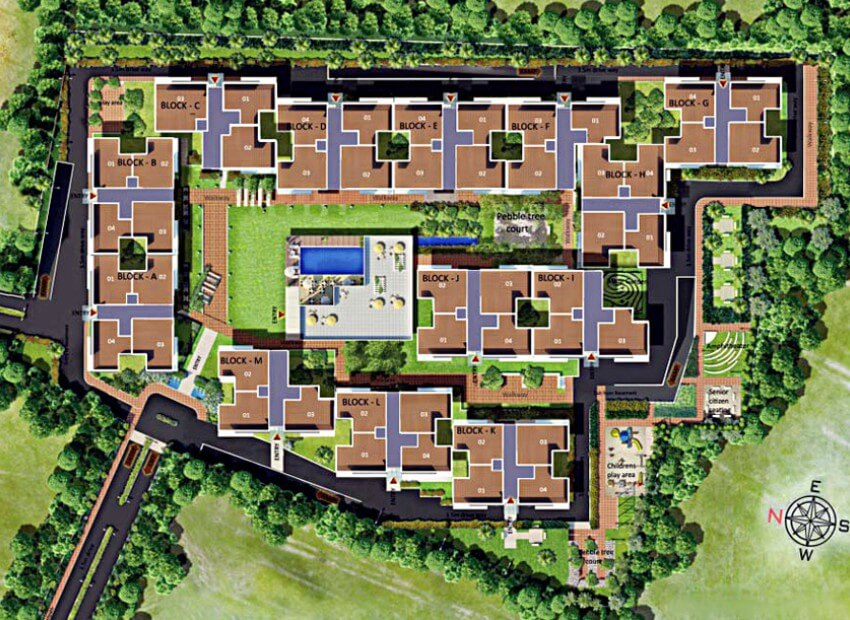 SJR Mayfair Residences Off Sarjapur road Bangalore 15891