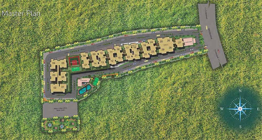 Mahaveer Promenade Whitefield Bangalore 15912