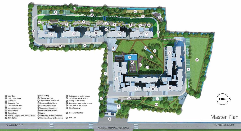 Godrej Avenues Masterplan
