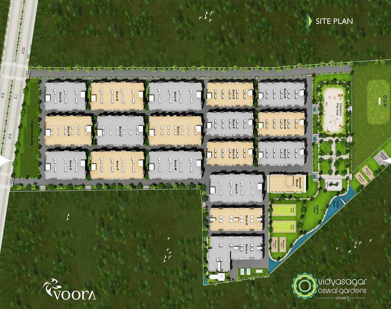 Voora Vidyasagar Oswal Gardens Phase II Korukkupet Chennai 15966