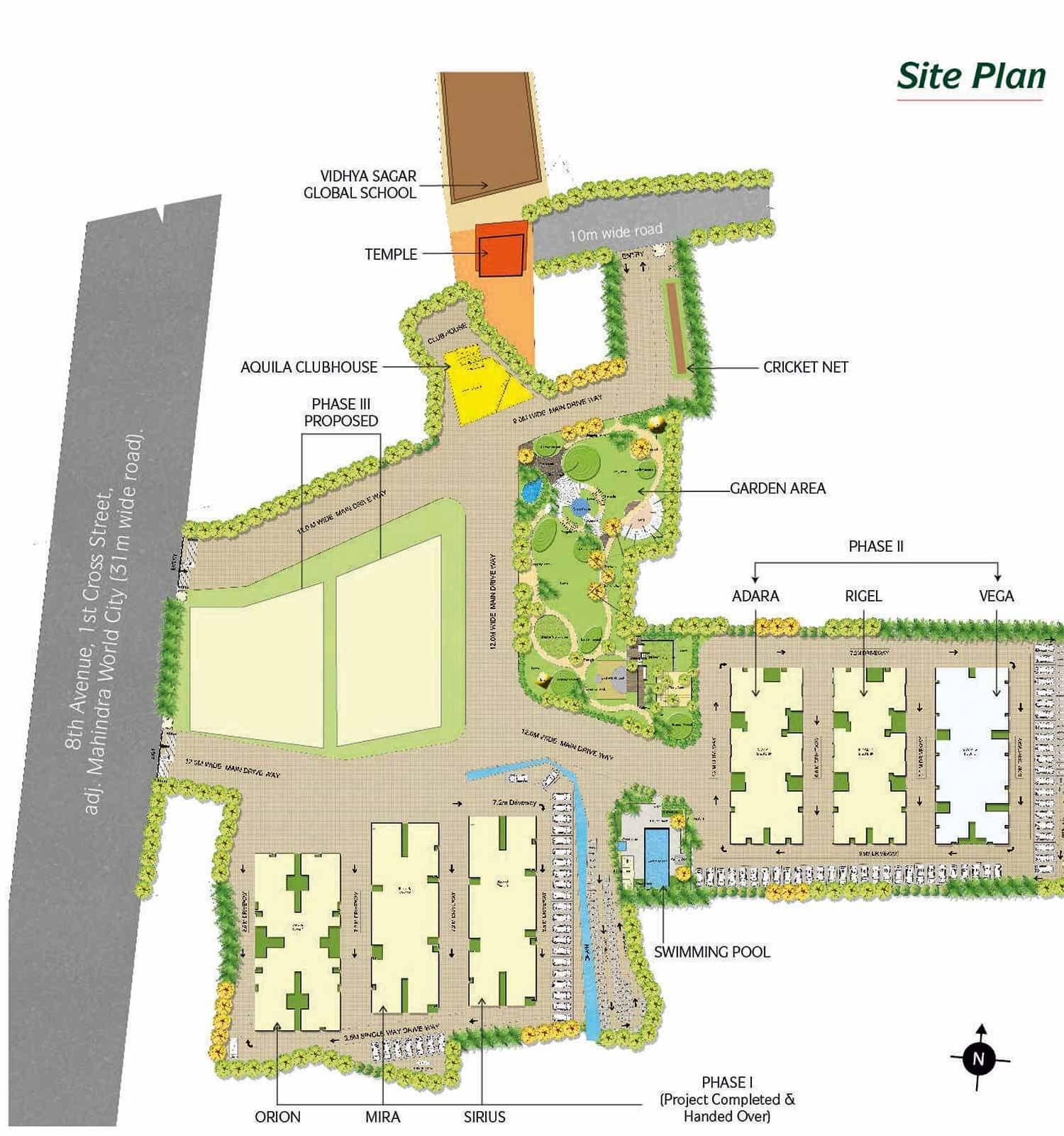 DRA Pristine Pavilion Phase 2 Mahindra World City Chennai 16000