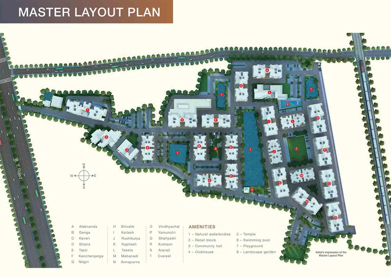Godrej Prakriti masterplan