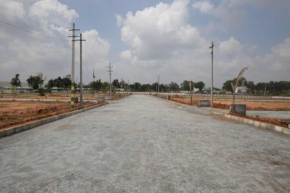 Upkar Habitat Plot Attibele Bangalore 16305