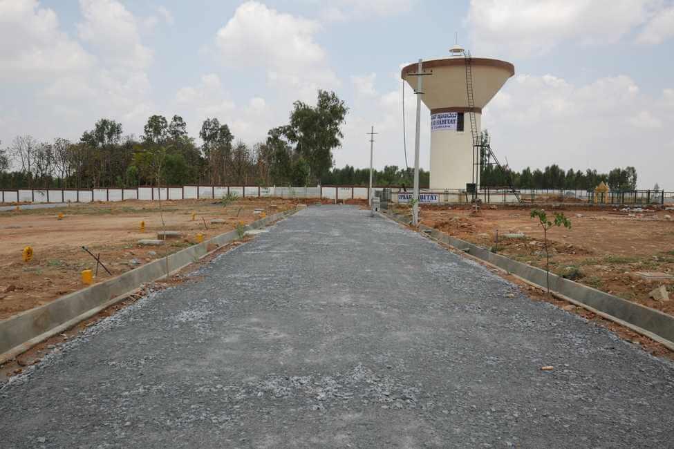 Upkar Habitat Plot Attibele Bangalore 16306