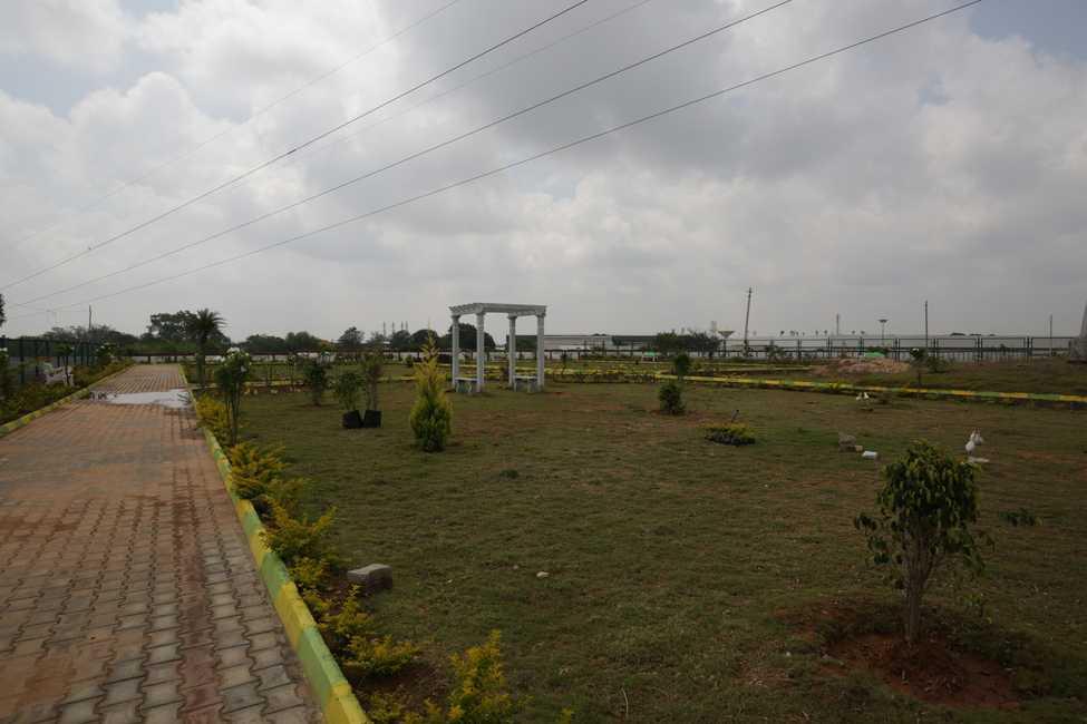 Upkar Habitat Plot Attibele Bangalore 16322