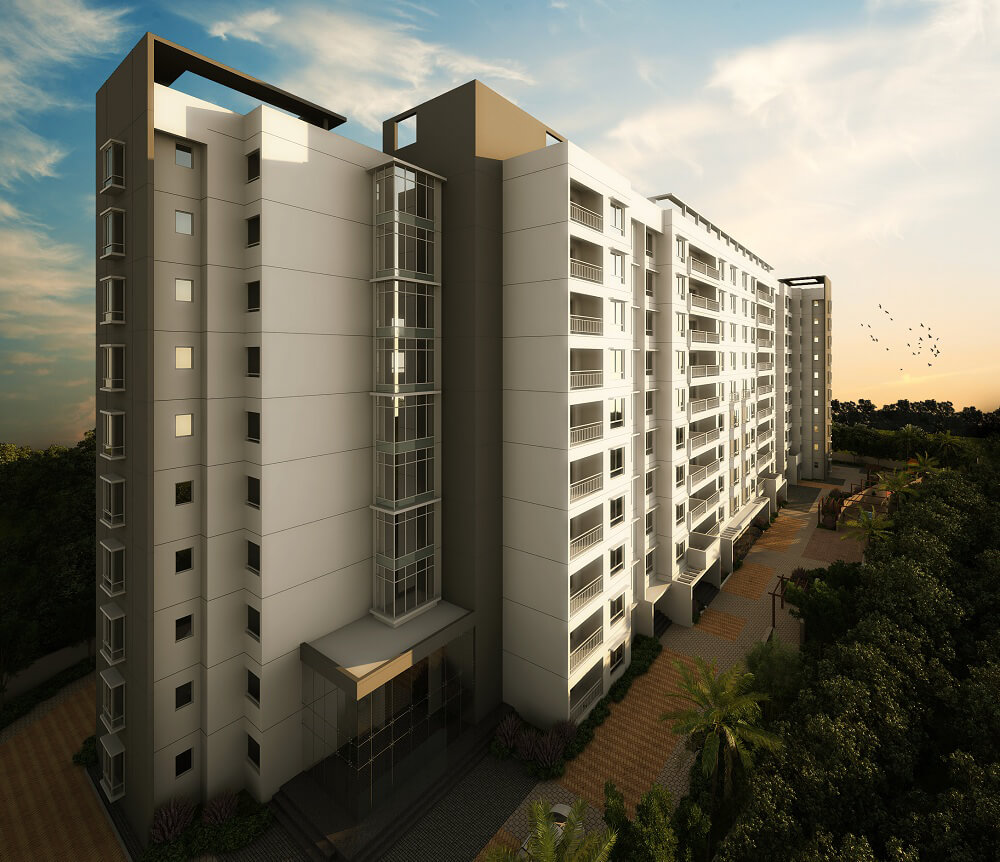 Ajmera Stone Park Phase 2 Electronic City Phase 1 Bangalore 3557