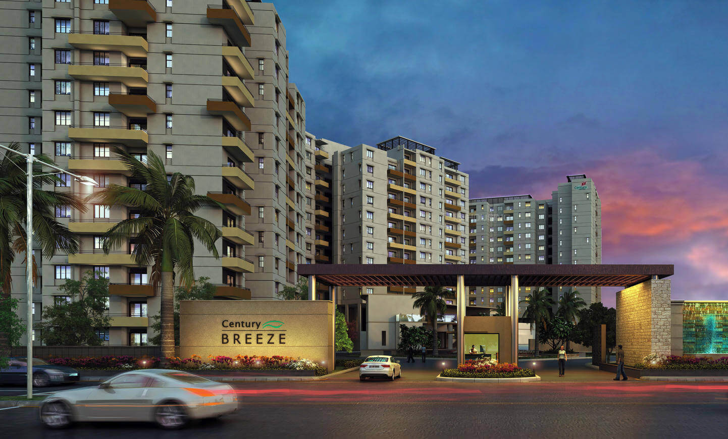 Century Breeze Jakkur Bangalore 3736