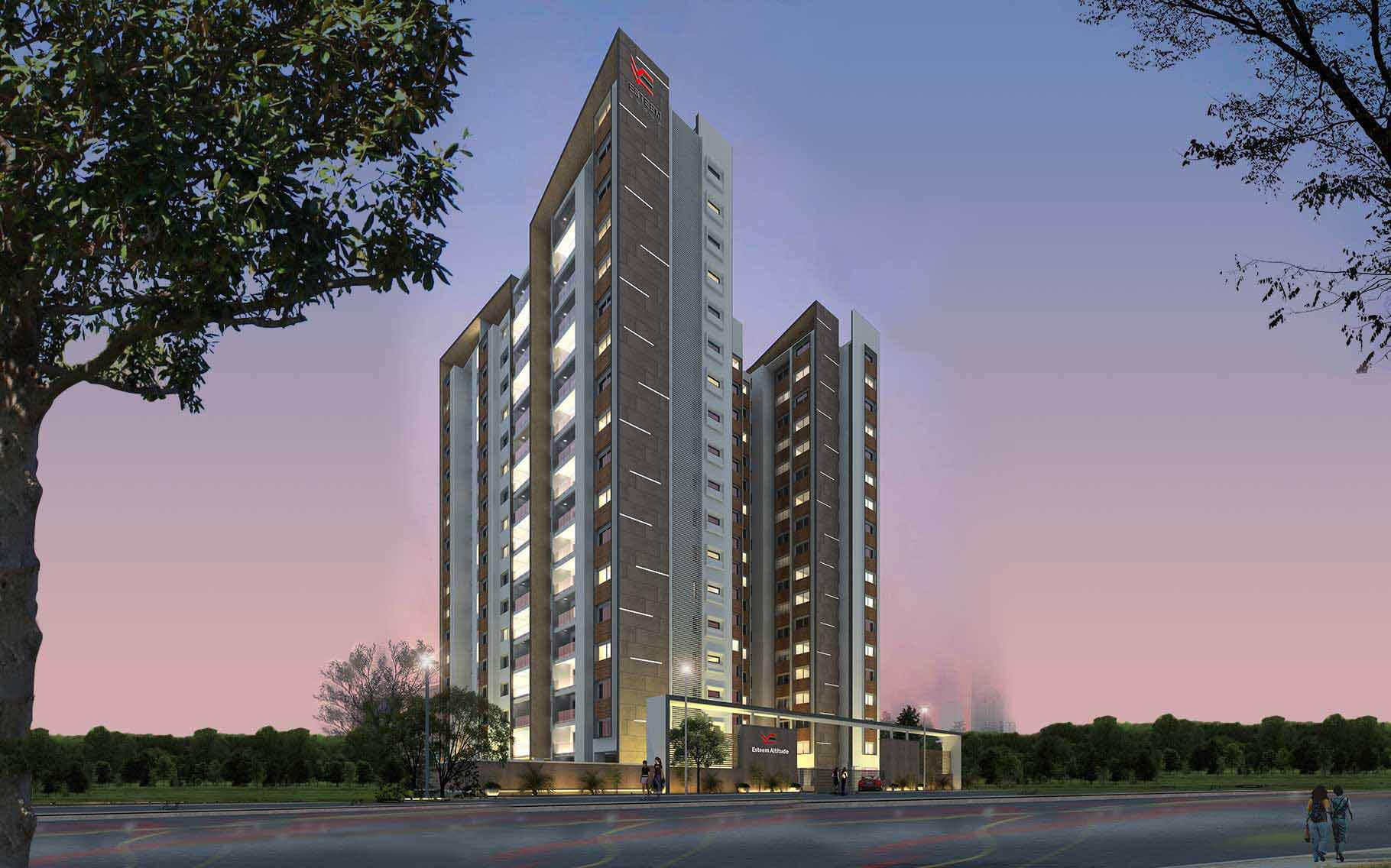 Esteem Altitude Yeshwanthpur Bangalore 3869