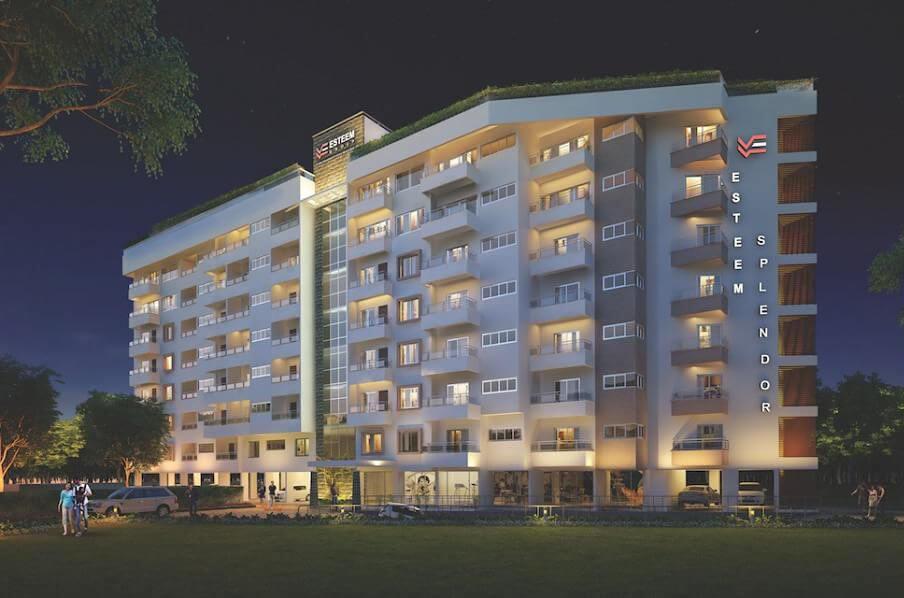 Esteem Splendor II Adugodi Bangalore 3885