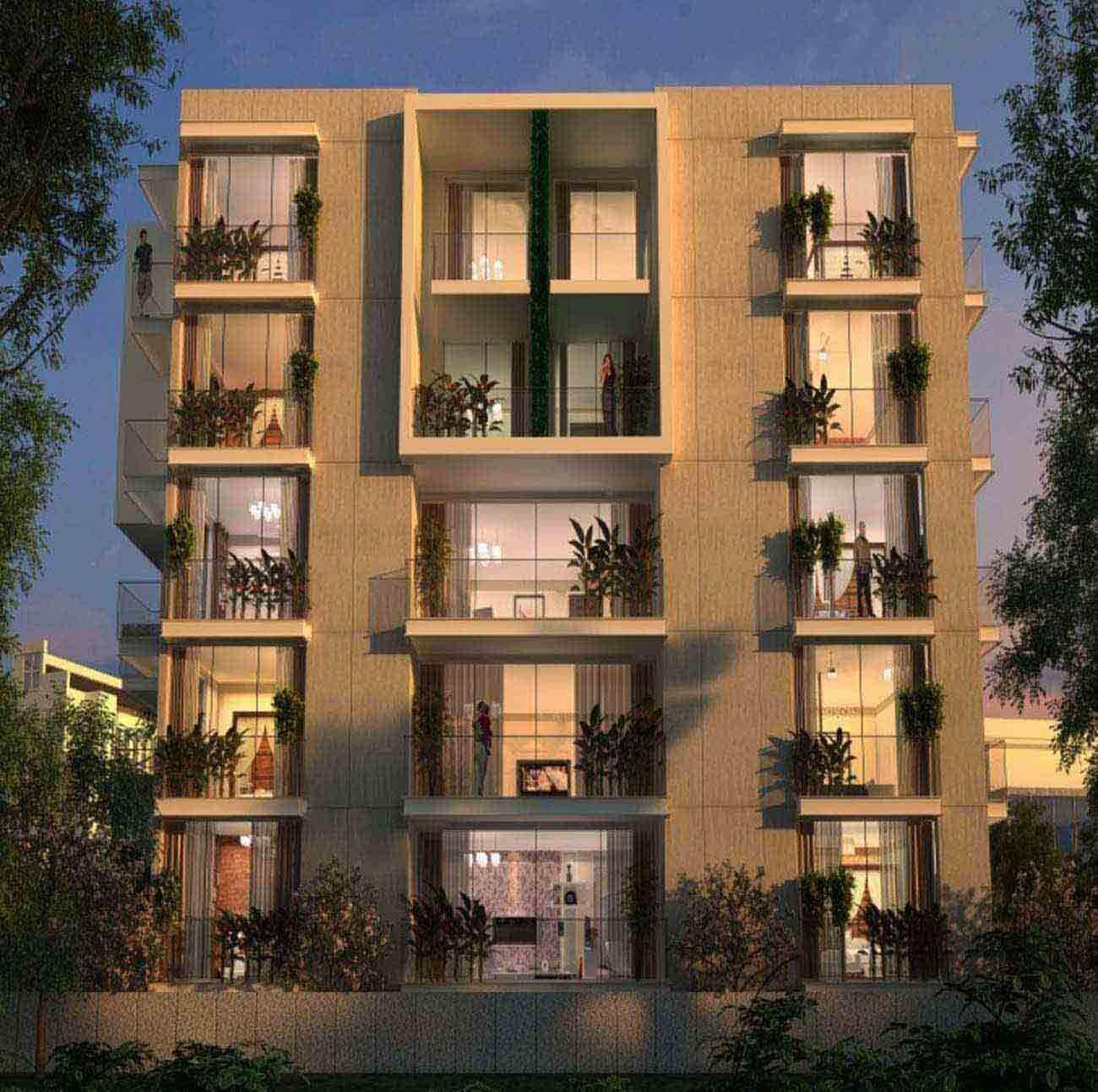 Krishvi Deesha Ashok Nagar Bangalore 4040