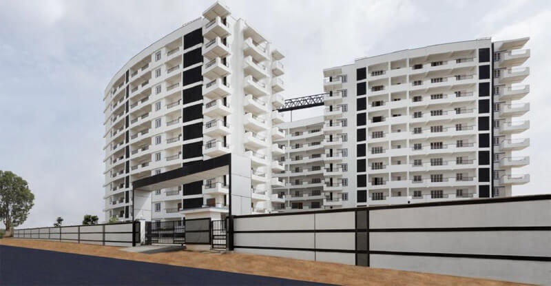 Mantri Global heights Kannamangala Bangalore 4107