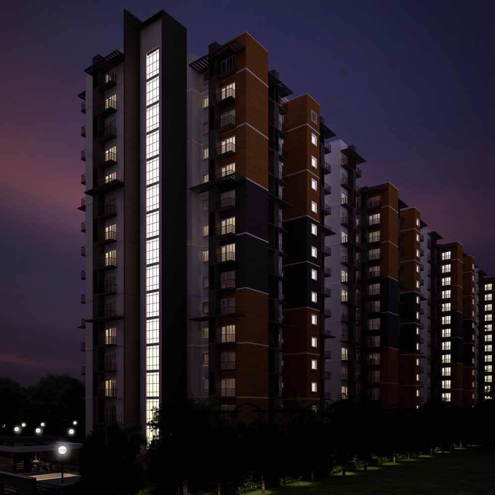 Max Maxworth City Vidyaranyapura Bangalore 4133