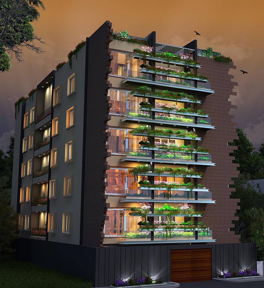 Redifice Ashton Fraser Town Bangalore 4543