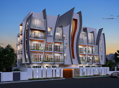 Redifice Featherstone Homes Fraser Town Bangalore 4544