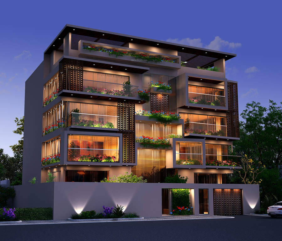 Redifice Urban Oasis Cox Town Bangalore 4552
