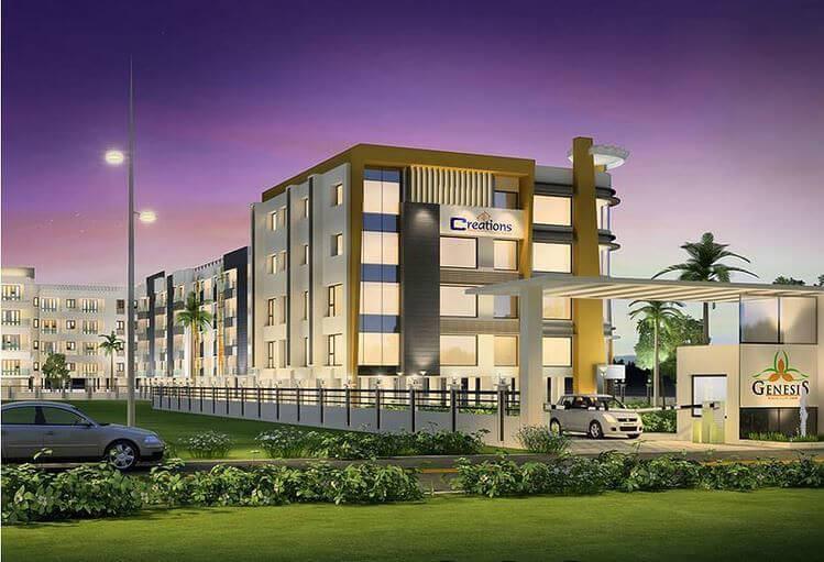 Creations Genesis Navalur Chennai 6531
