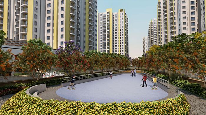 L&T Eden Park Phase II Off OMR Chennai 6624
