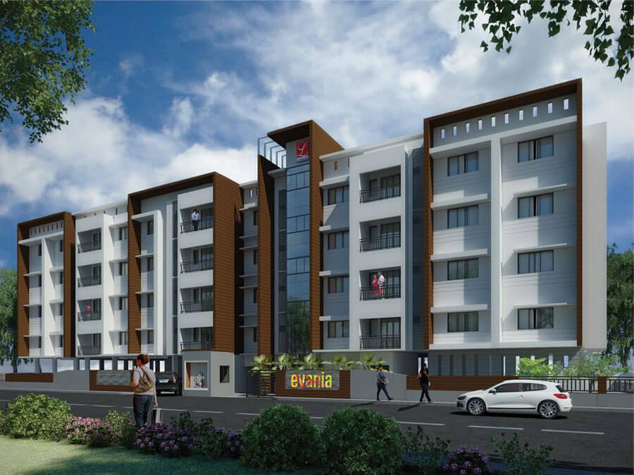 Landmark Evania Perungudi Chennai 6700