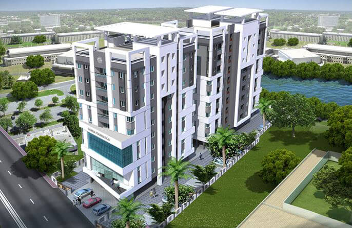 Ganga Ishana Apartments Kolathur Chennai 6741