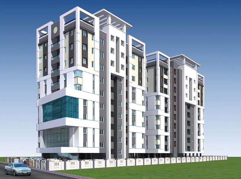 Ganga Ishana Apartments Kolathur Chennai 6742