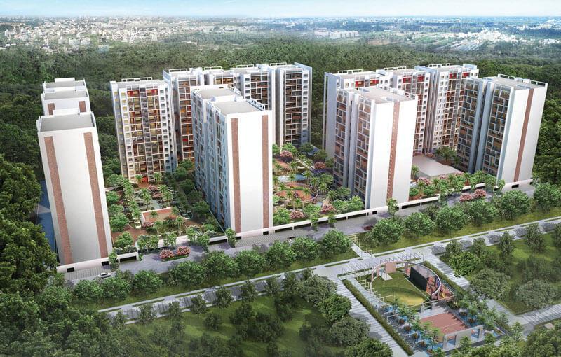 TVH Vista Heights Trichy Road Coimbatore 8283