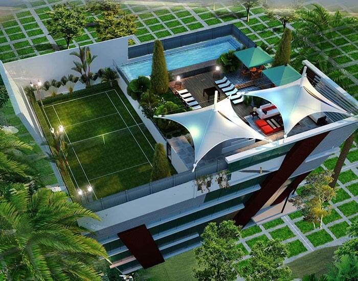 SMR Vinay Iconia Kondapur Hyderabad 8664
