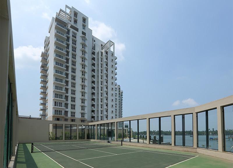Prestige Neptunes Courtyard Marine Drive Kochi 9004