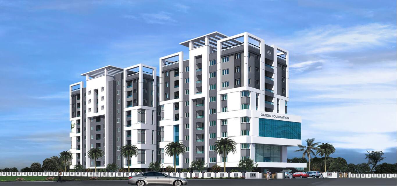 Ganga ishana apartments banner