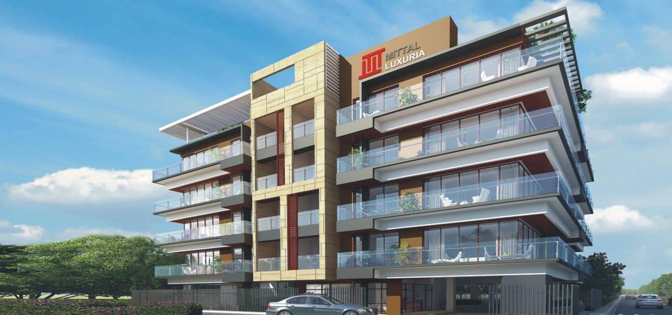 Mittal luxuria banner