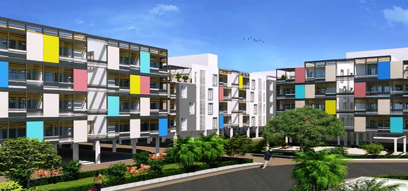 S&P Living Spaces Mogappair West Chennai banner