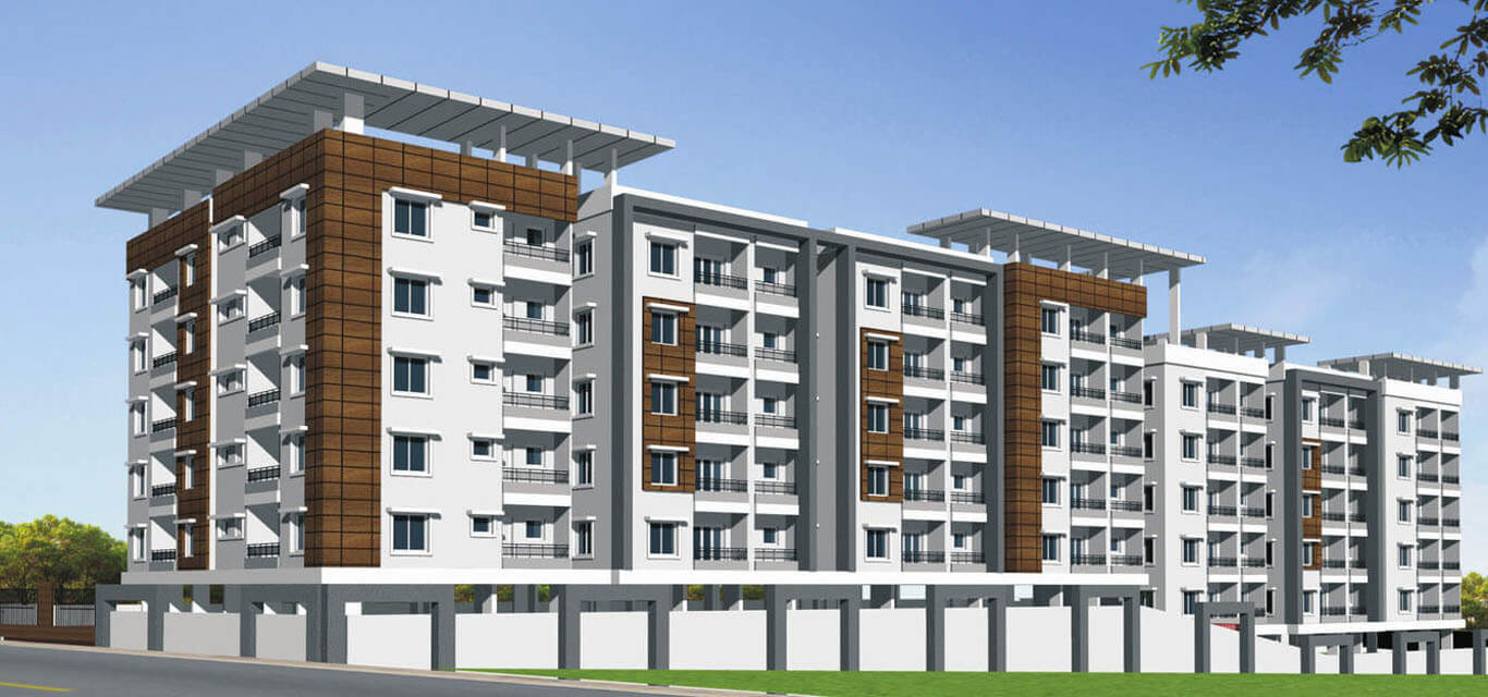 Rooshna Constructions Majestic Vistas Attapur Hyderabad banner