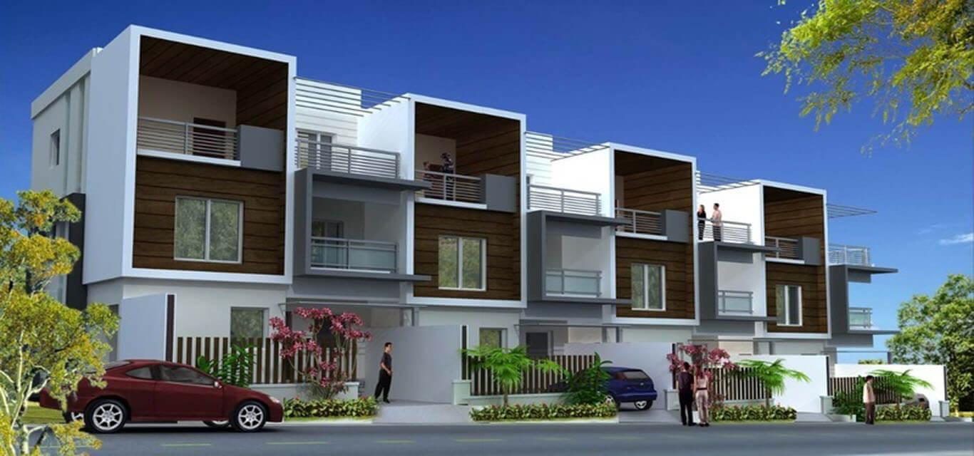 Rooshna constructions majestic villas banner