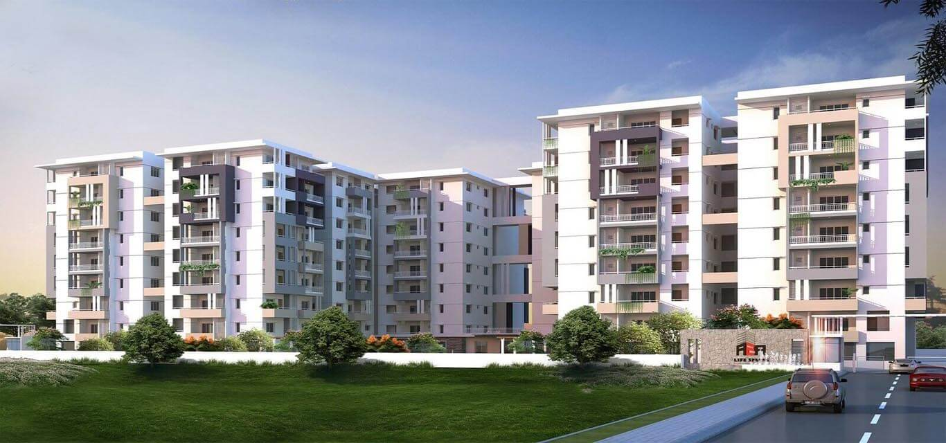 Raghuram A2A Life Spaces Bala Nagar Hyderabad banner