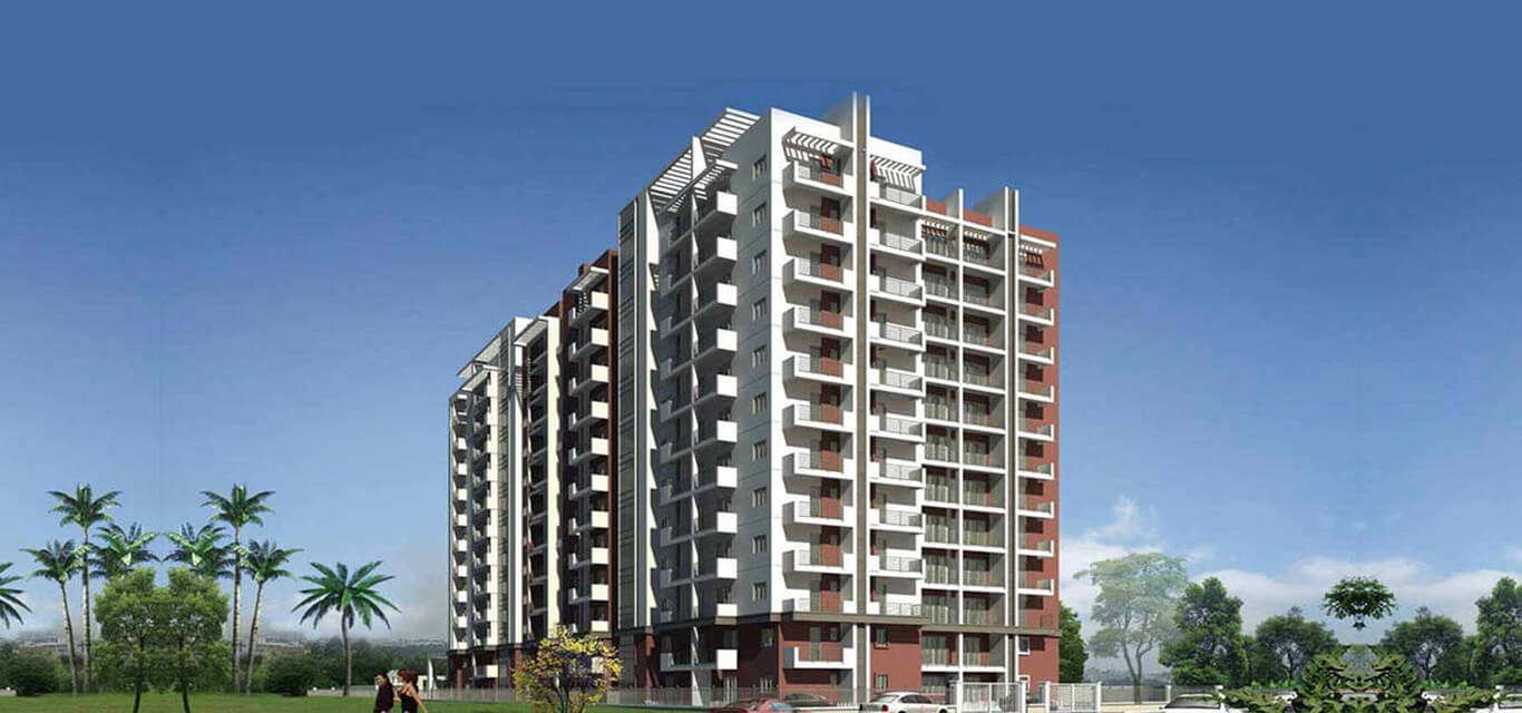 K Raheja Corp Quiescent Heights Madhapur Hyderabad banner